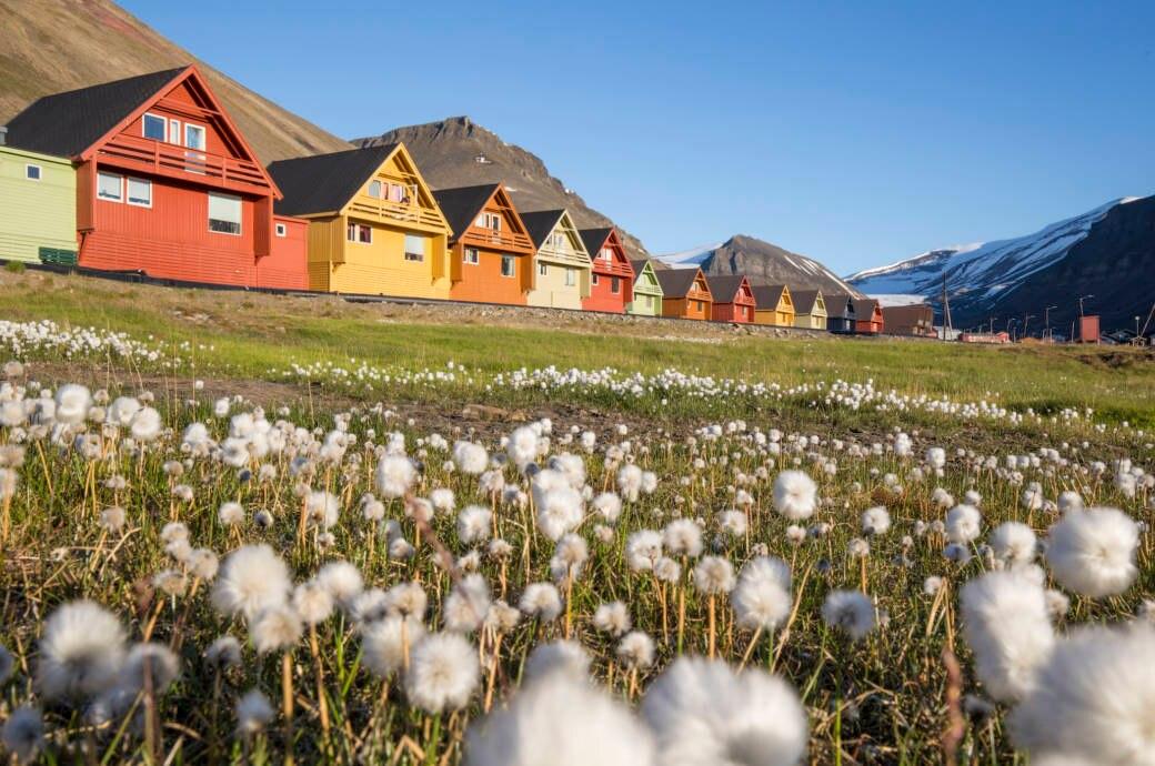 Longyearbyen in Norwegen