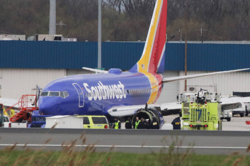 Southwest Airlines Unfall