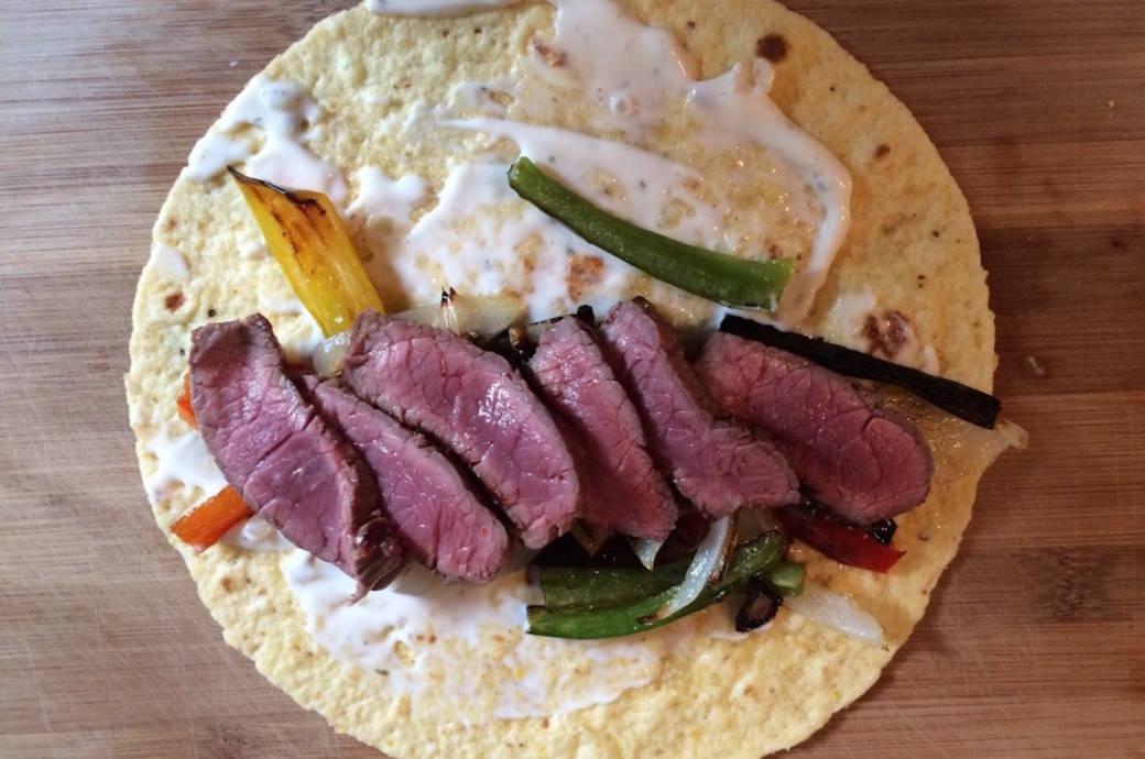 Diese Steak-Tortillas vom Grill kannst du super easy selbst machen