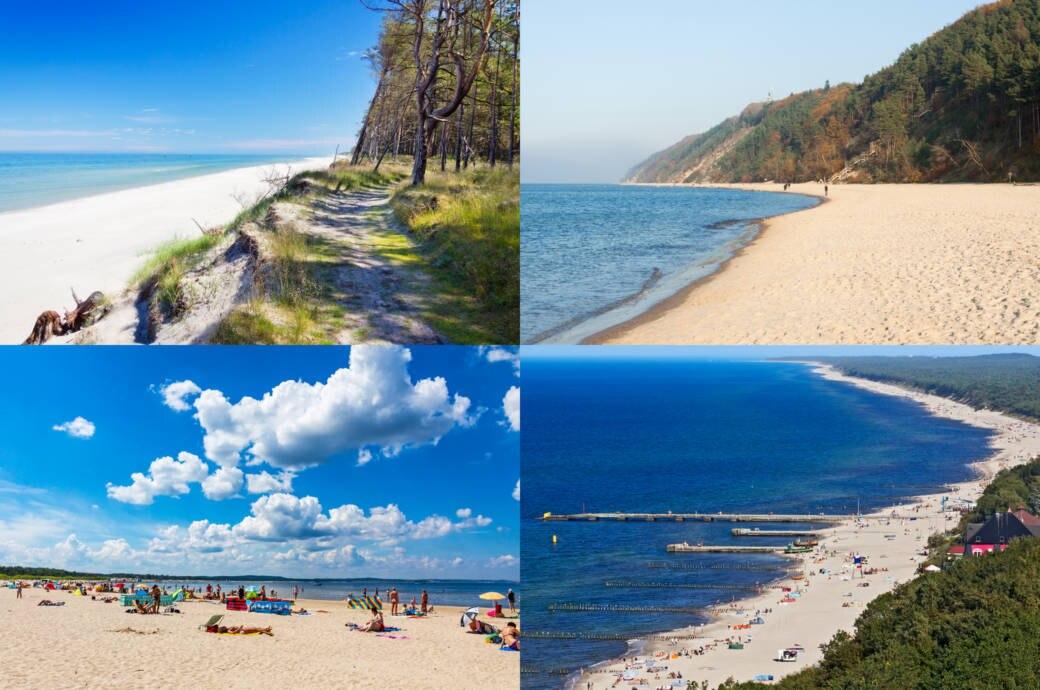 Die Schonsten Strande In Polen Mit Ubersichtskarte Travelbook