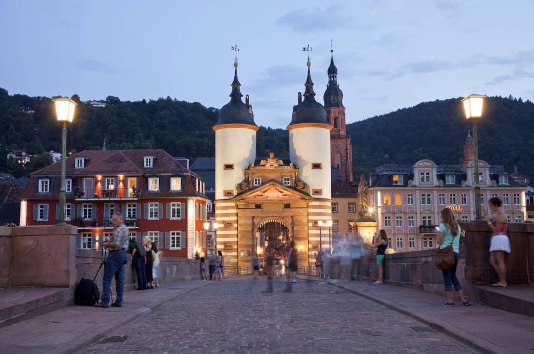 Heidelberger Altstadt