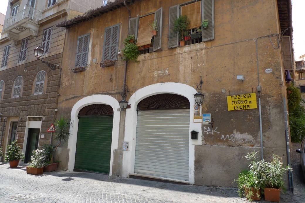 Geschlossene Geschäfte und Restaurants in Rom