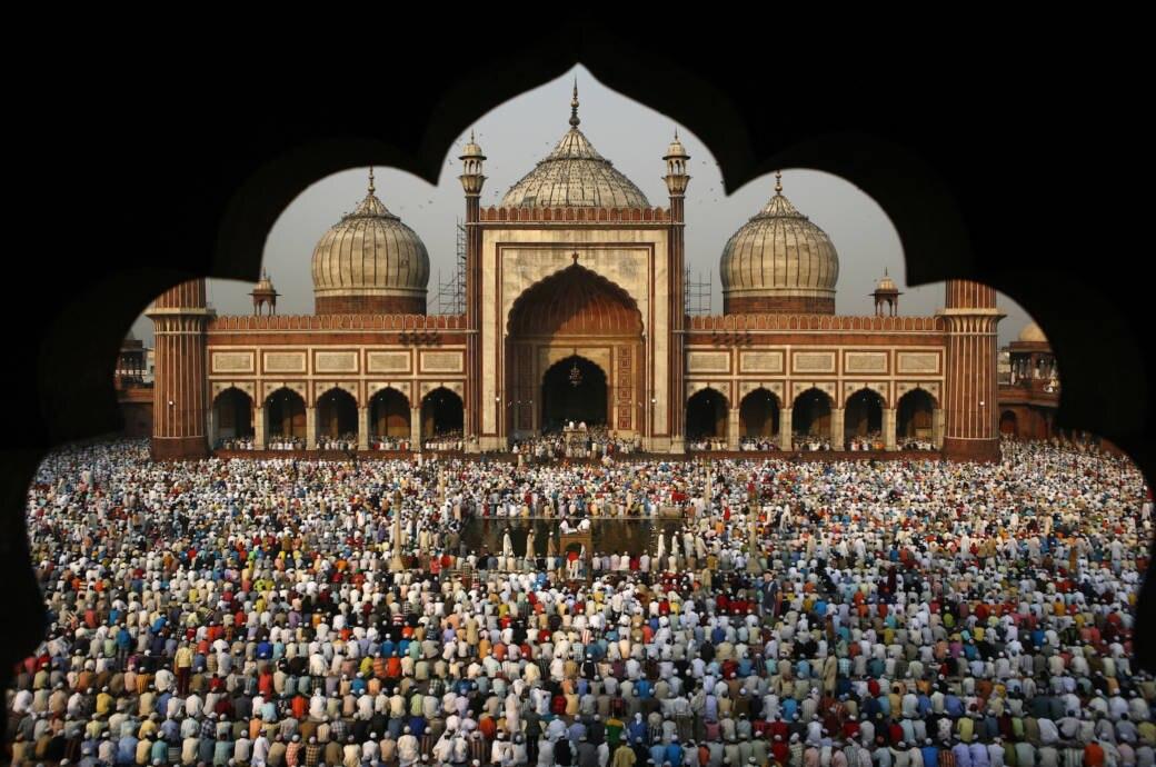 Jama Masjid Moschee in Neu Delhi