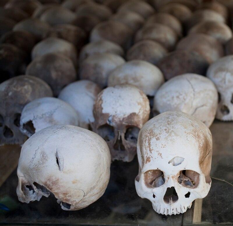 Killing Field in Kambodscha