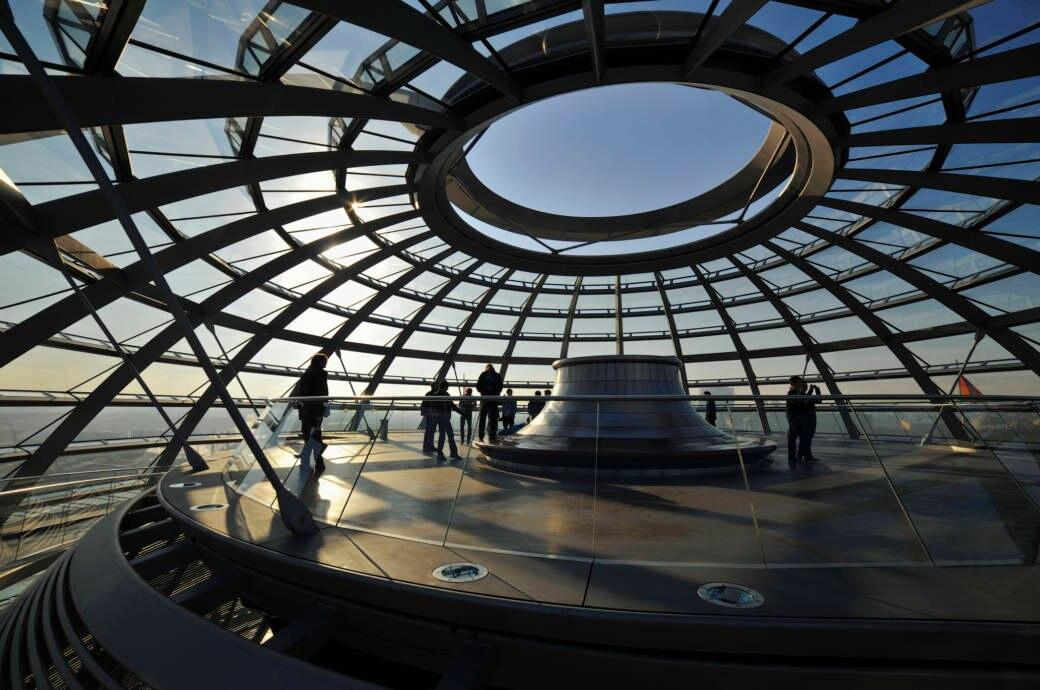 Beliebteste Sehenswürdigkeit in Deutschland, Berlin, Reichstagskuppel