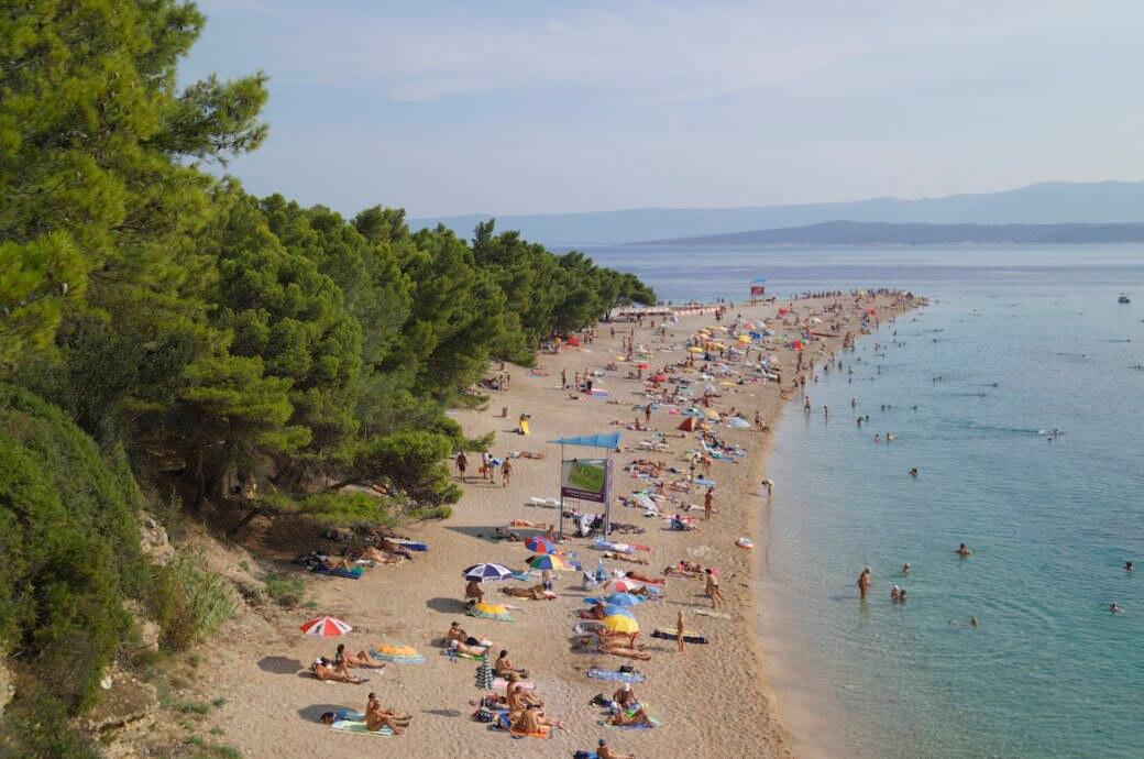 Strande Istrien Karte.Mit Karte Die 14 Schonsten Fkk Strande In Kroatien Travelbook