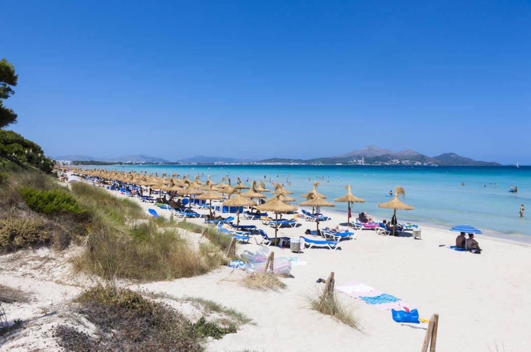Mallorca Karte Strande.Ausgezeichnet Diese Strande Auf Mallorca Sind Sauber