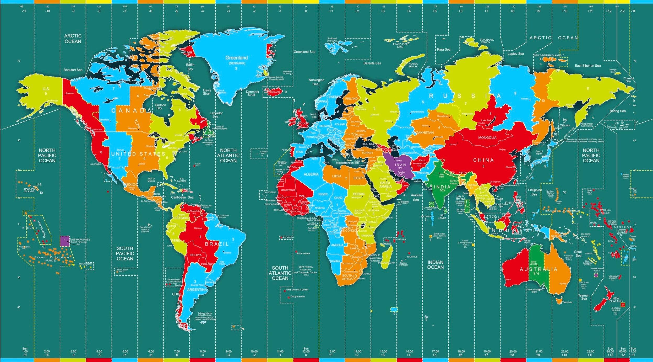 Wieviel länder gibt es auf der erde | Wie viele Menschen