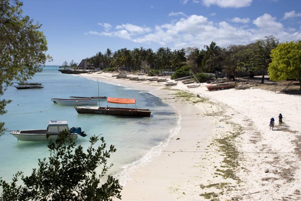 Der Kizimkazi Beach im Süden Sansibars