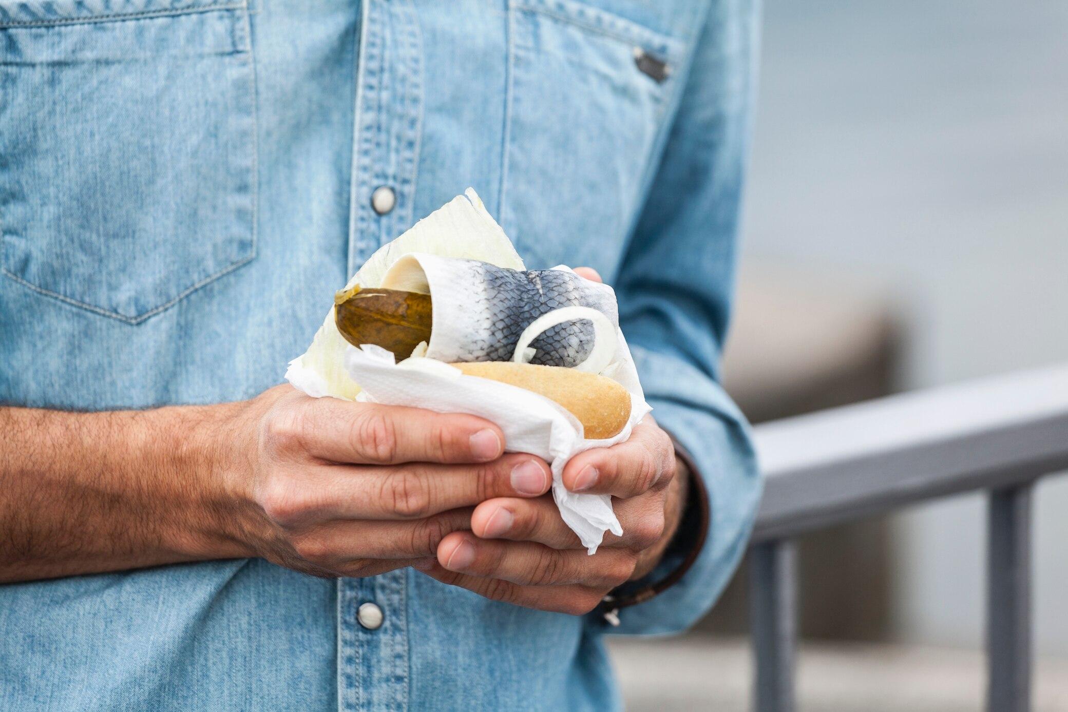 Die 8 besten Fischbrötchen-Imbisse in Hamburg