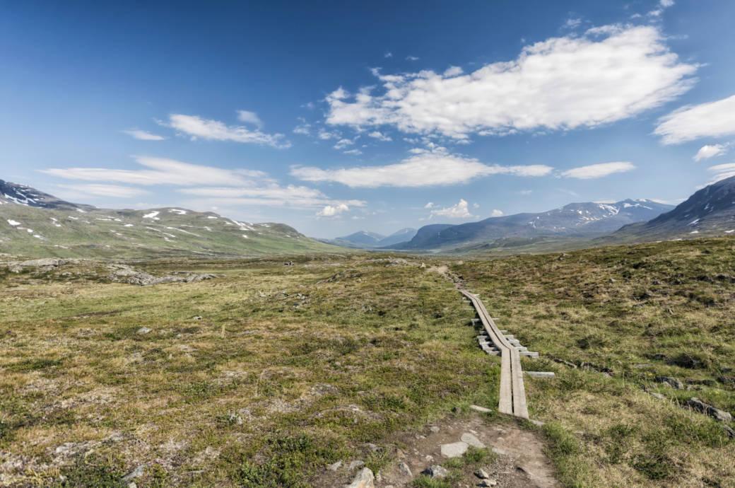 800 Kilometer langer Fernwanderweg Kungsleden