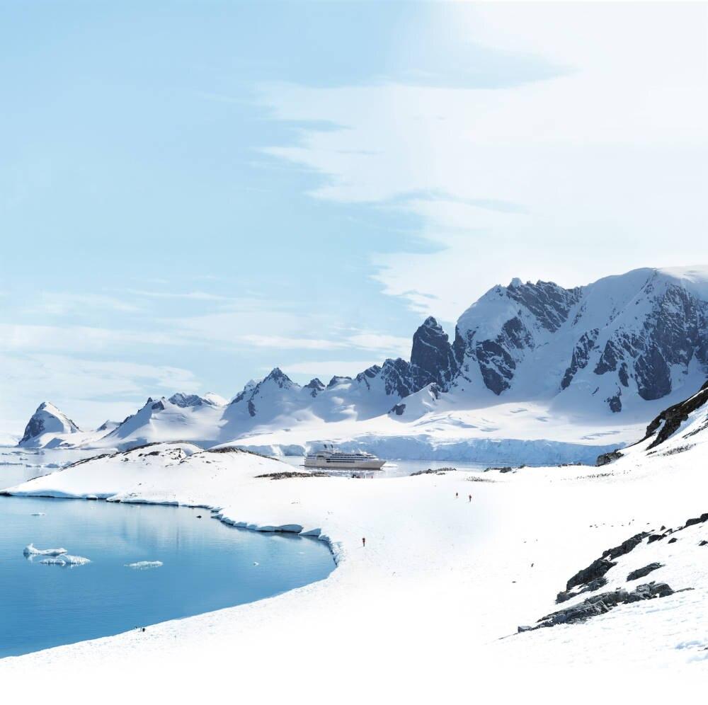 Ponant Antarctica der Mundy Cruising