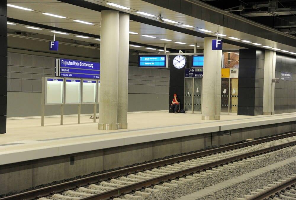 Bahnhof am Flughafen BER