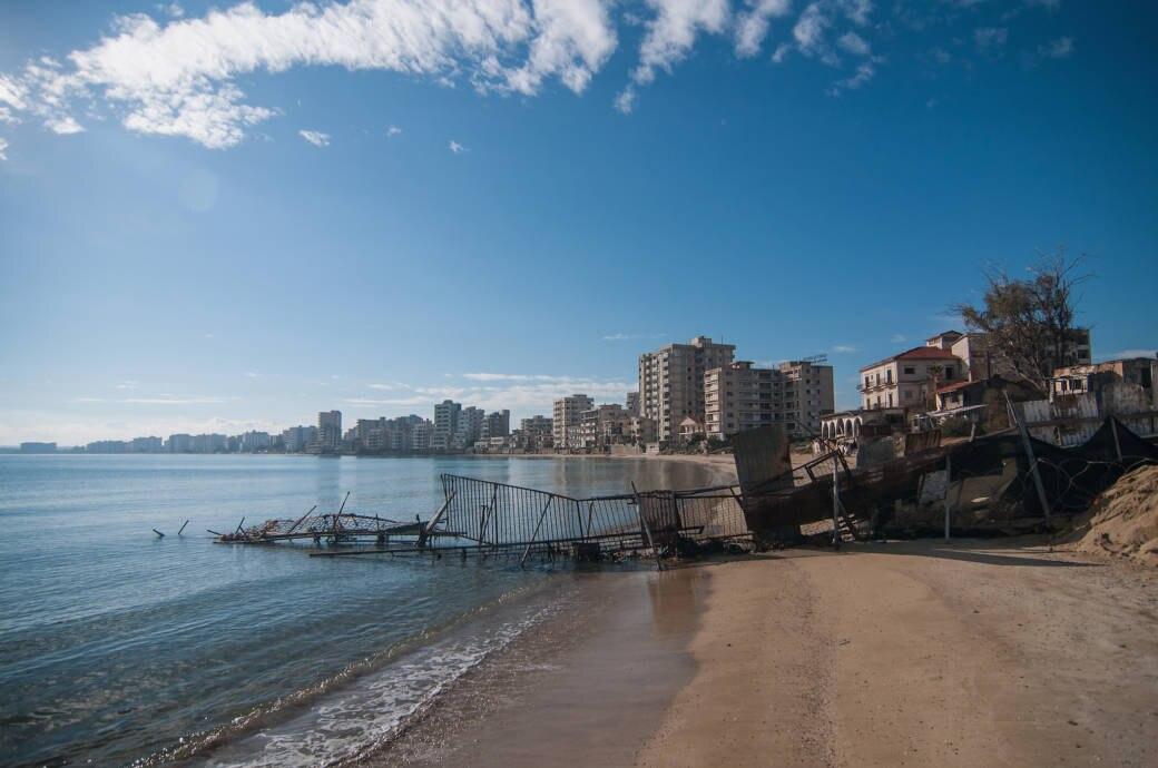 Varosha – Zyperns Geisterstadt am Strand