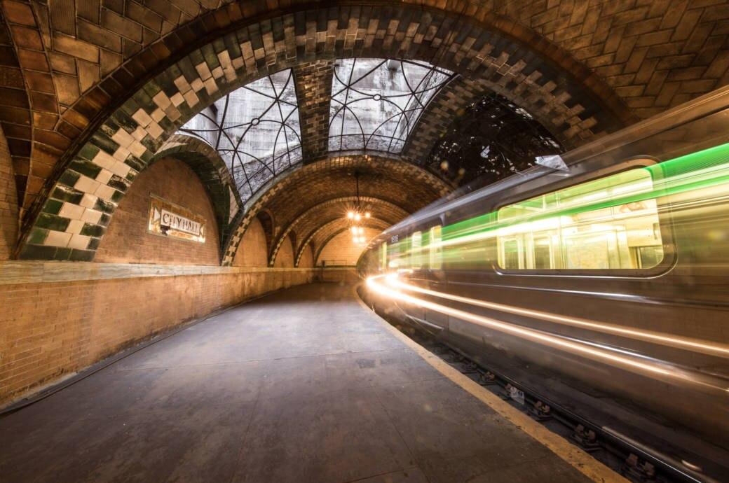 Der vergessene U-Bahnhof von New York City