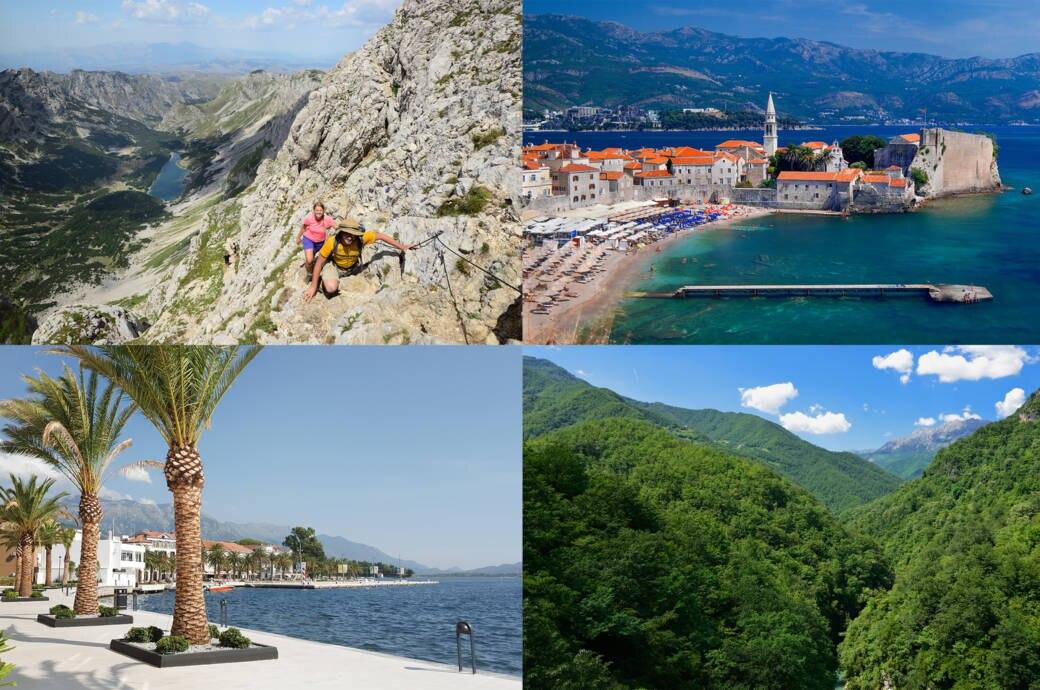 Montenegro: Meiden Sie die Küste! Hier ist es viel schöner