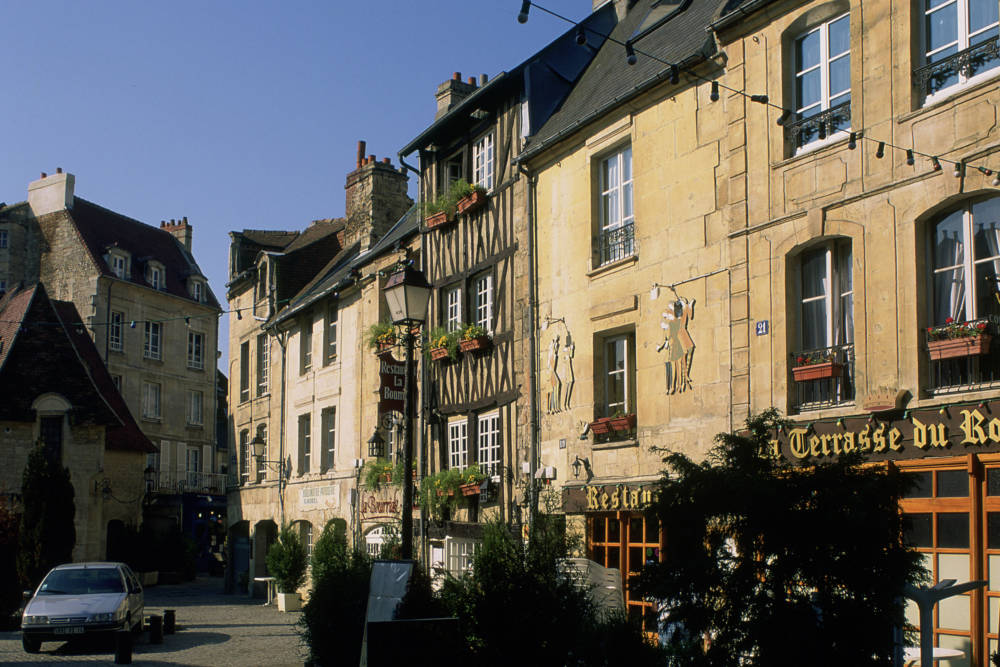 Das Quartier du Vaugueux in Caen
