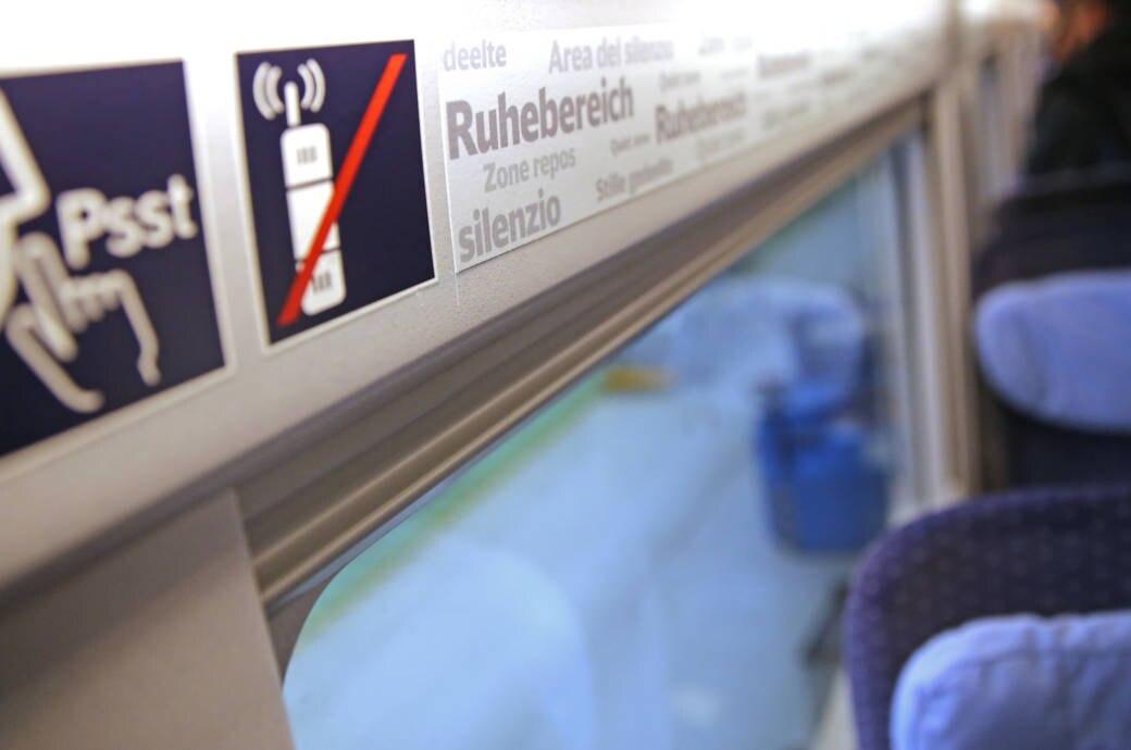 Ruhebereich Bahn