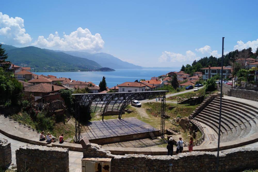 Das Amphitheater von Ohrid