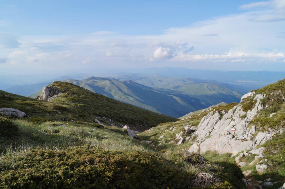 Galičica-Gebirge