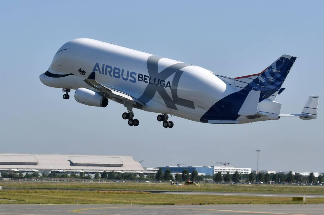 "Supertransporter Airbus ""Beluga XL"" erstmals abgehoben!"