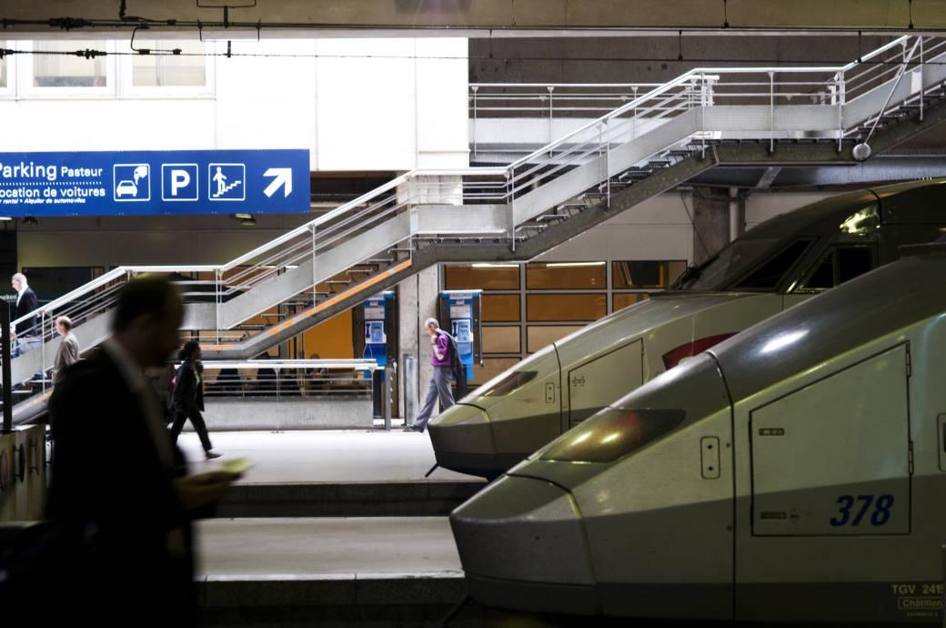 Pariser Bahnhof Montparnasse