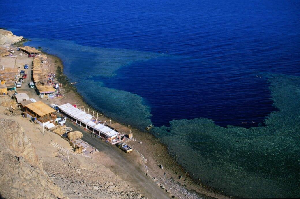 blue hole ägypten