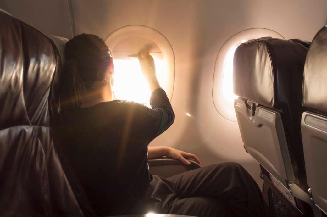 Wieso Sie auch im Flugzeug Sonnenschutz tragen sollten