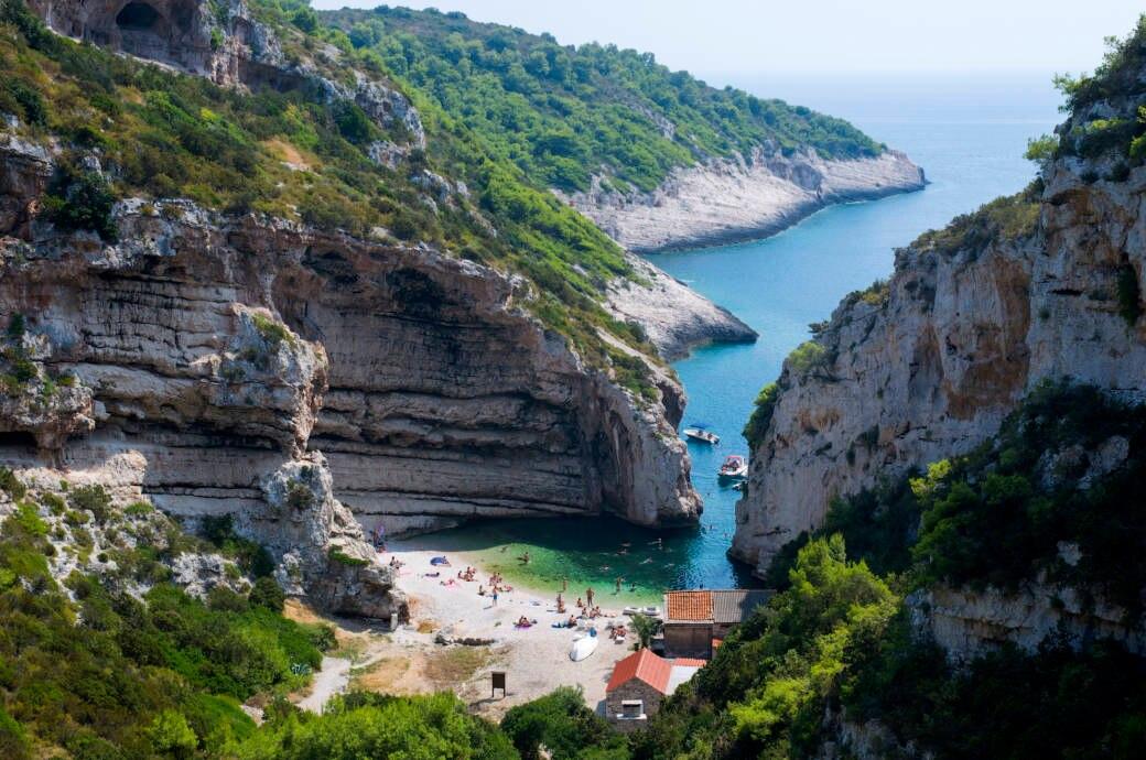 Die Insel Vis in Kroatien