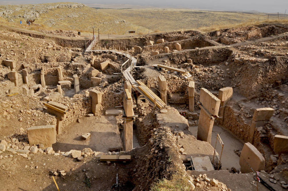 Historische Stätte Göbekli Tepe in der Türkei