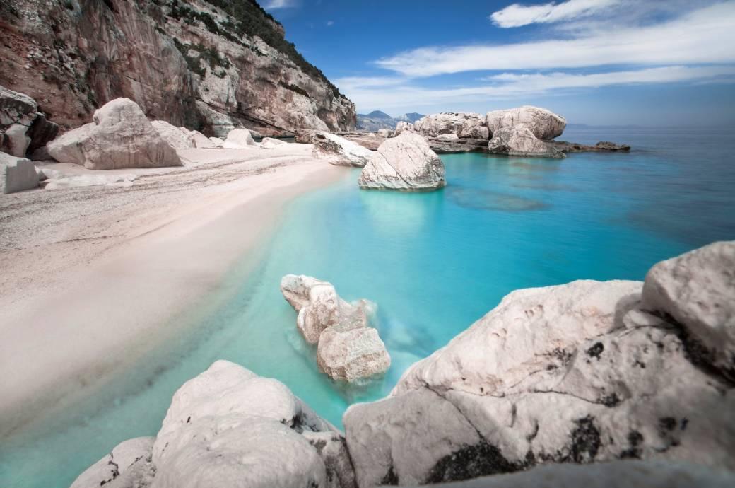 Cala Mariolu auf Sardinien, Italien