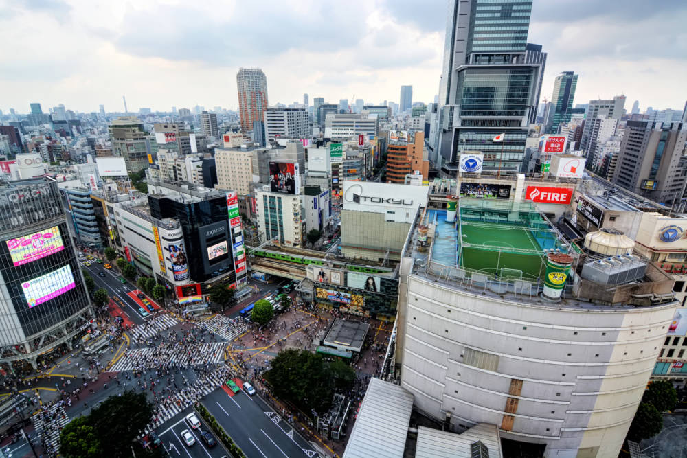 Shibuya in Tokio, Japan