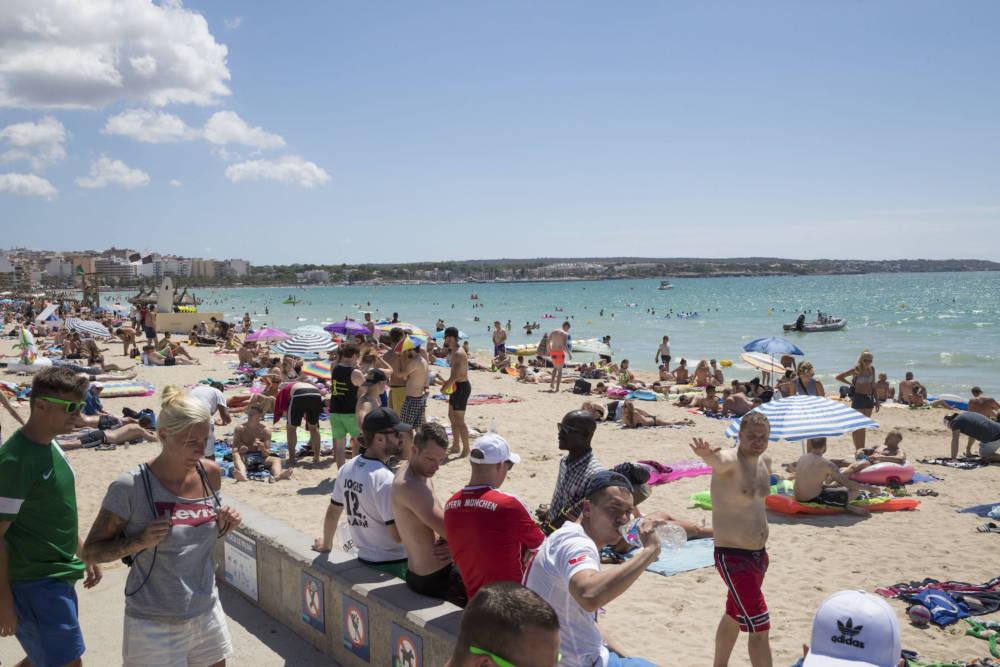 Palma Beach, Mallorca, Spanien