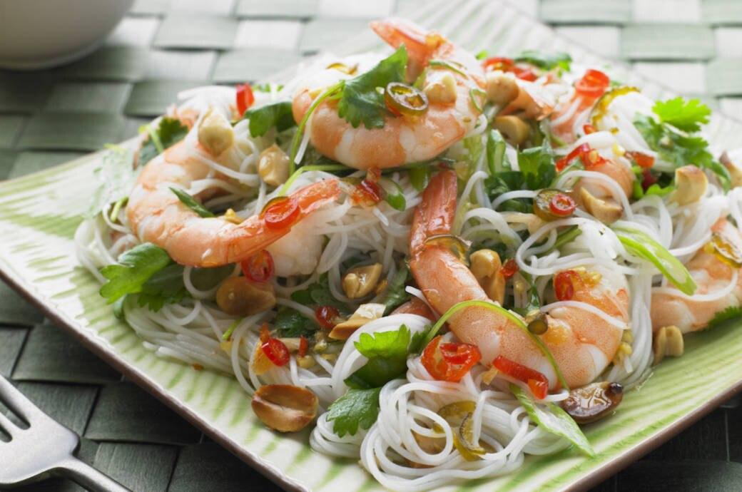 Rezept für Thailändischen Glasnudelsalat