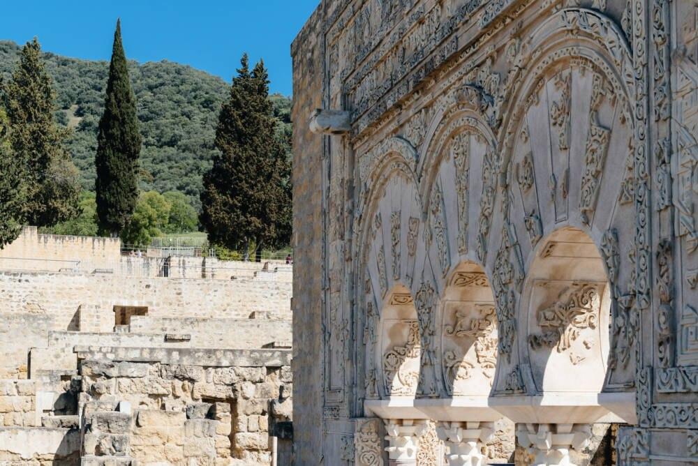 Die Kalifatsstadt Madīnat az-Zahrā in Spanien