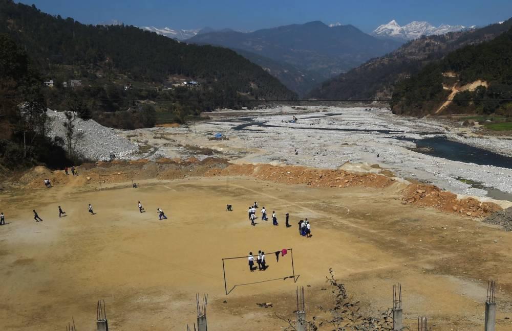 Bahuneypati, 70 Kilometer nordöstlich von Kathmandu