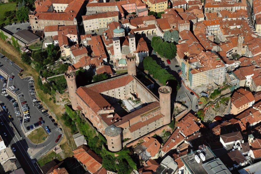 Die Burg von Ivrea, Turin, Italien