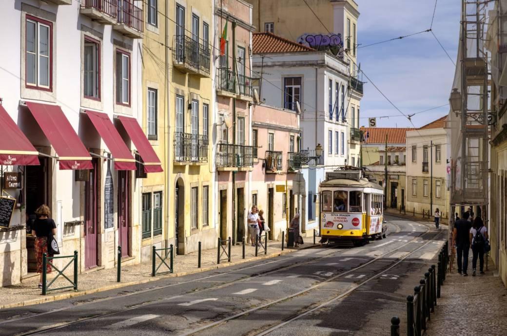 Alfama, Stadtteil in Lissabon, Portugal