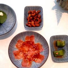Sehen gut aus und schmecken auch lecker: Die Amuse-Gueule bei Tim Raue