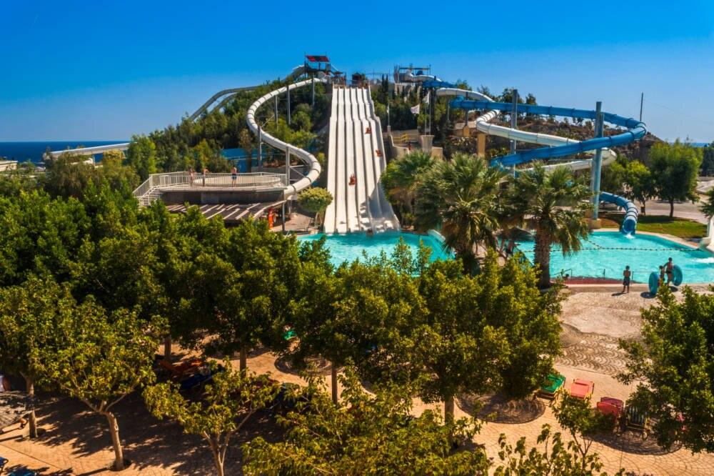 Water Park in Griechenland
