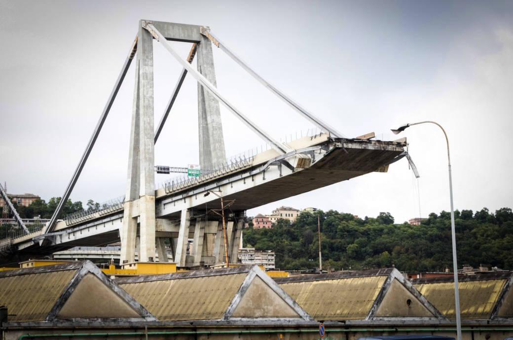 Brückeneinsturz Genau