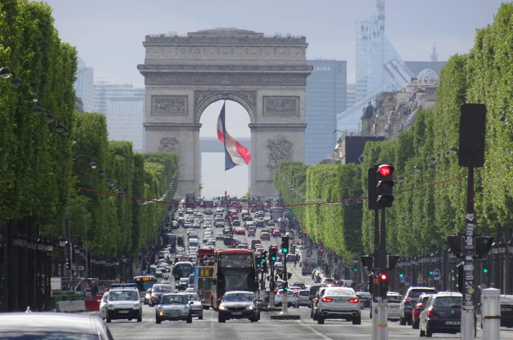 Autoplakette Frankreich