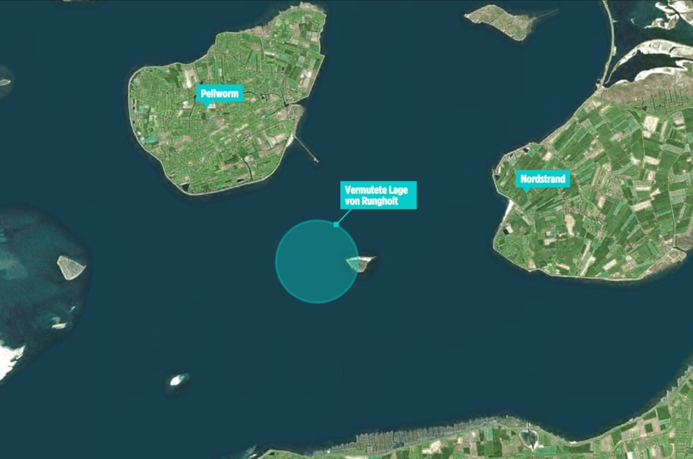 Pellworm Karte.Rungholt Hier Soll Das Atlantis Der Nordsee Liegen Travelbook