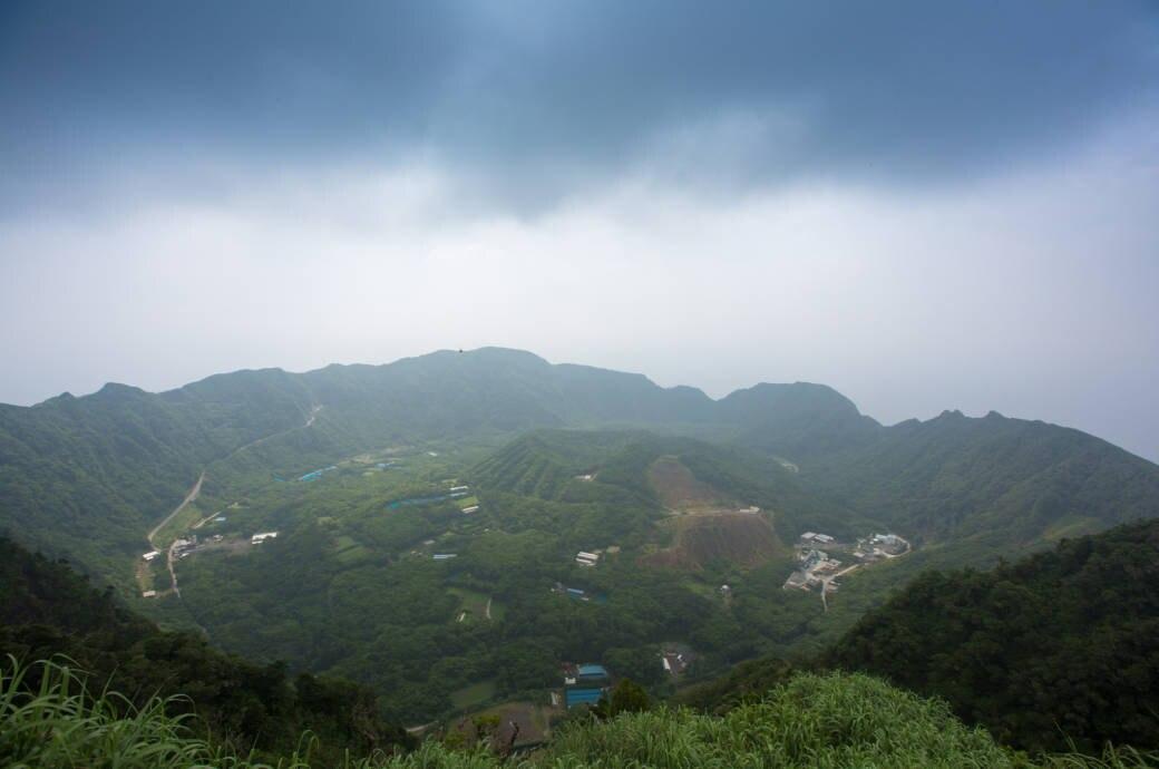 Vulkaninsel Aogashima