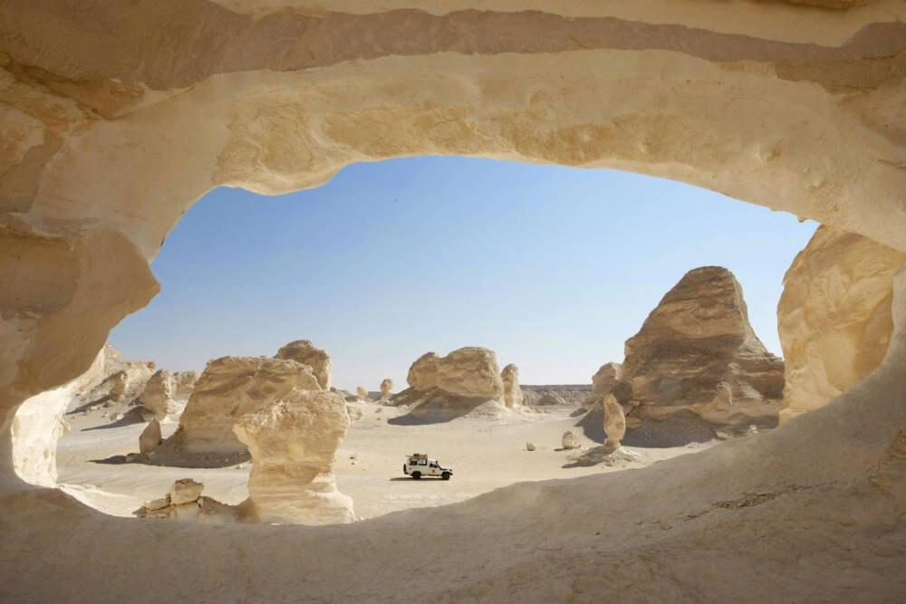 Weiße Wüßte, Ägypten