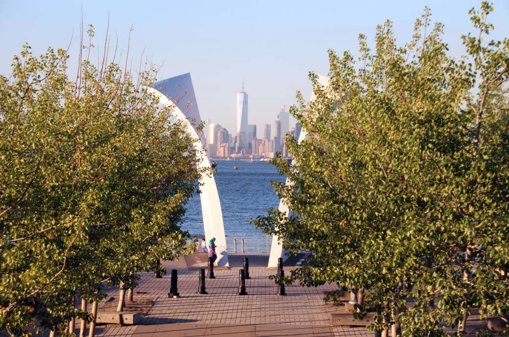 Staten Island - Blick nach Manhattan