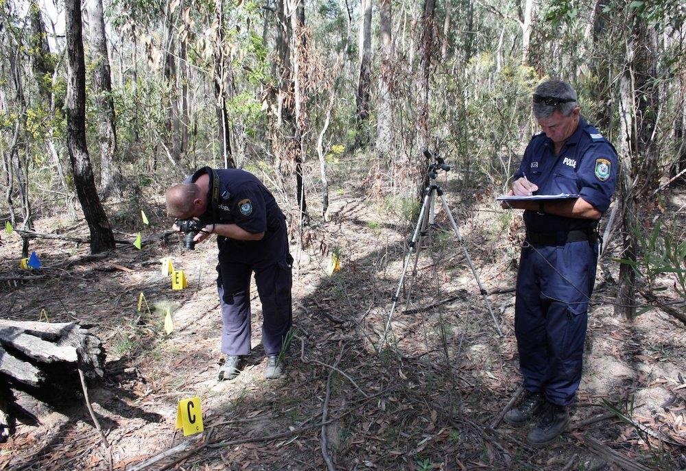 Polizei sucht nach Spuren nach Schädelfund im Belanglo State Forest