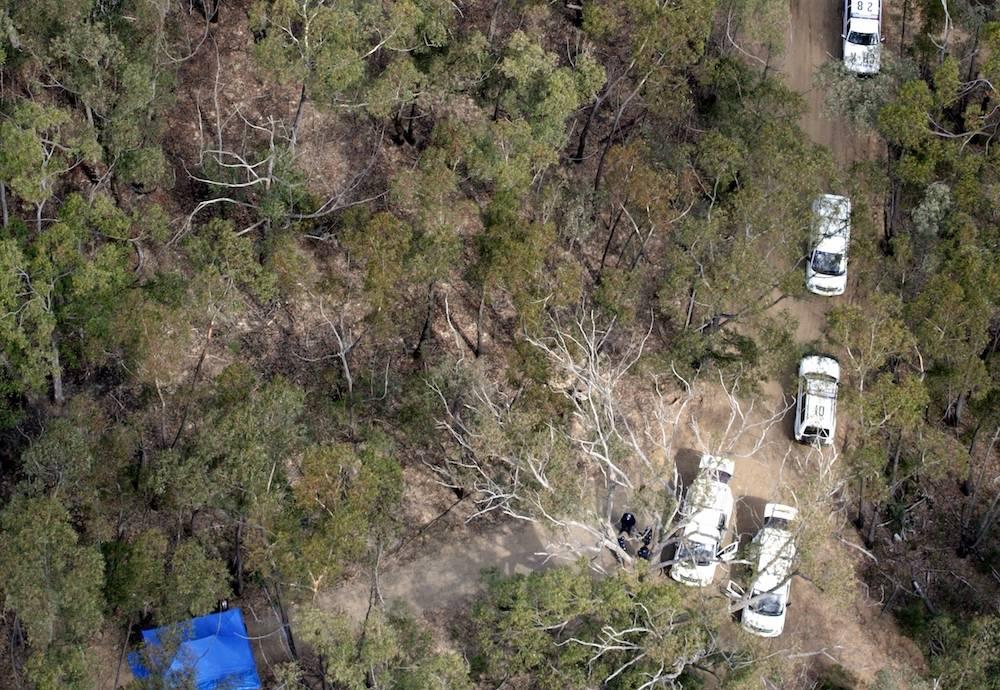 Crime Scene im Belanglo State Forest