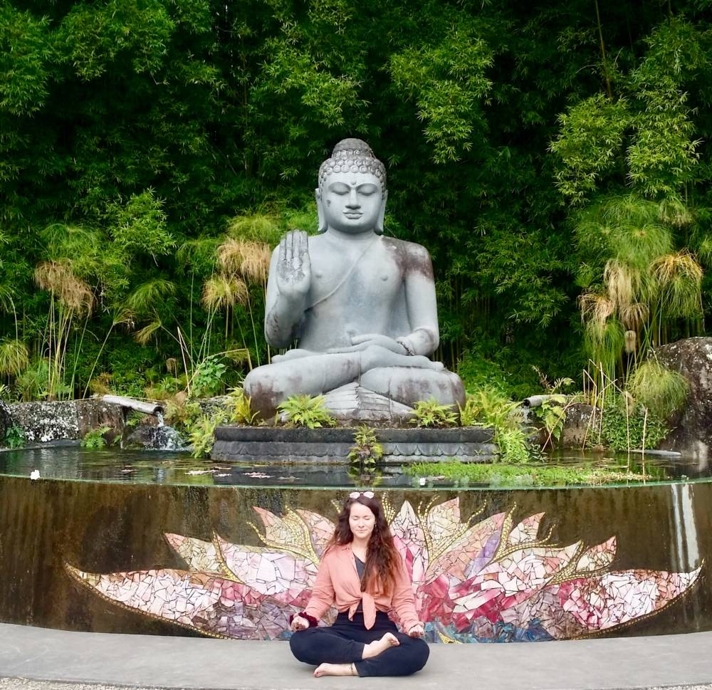 Crystal Castle Buddha