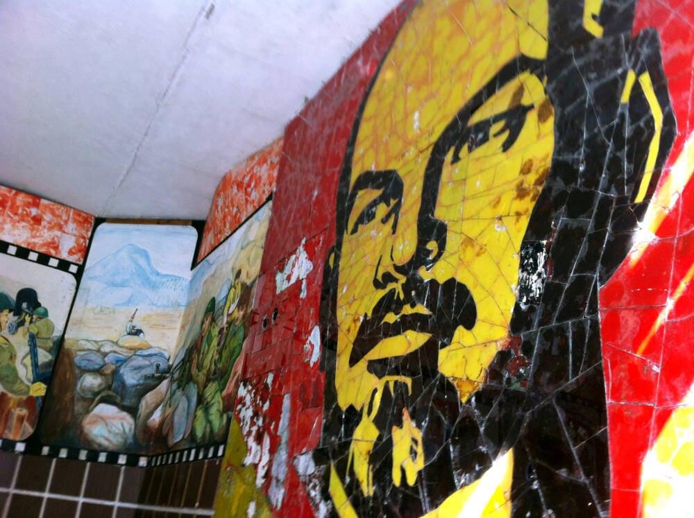 Skrunda, Lettland, Lenin